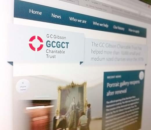 Image of GCGCT webpage